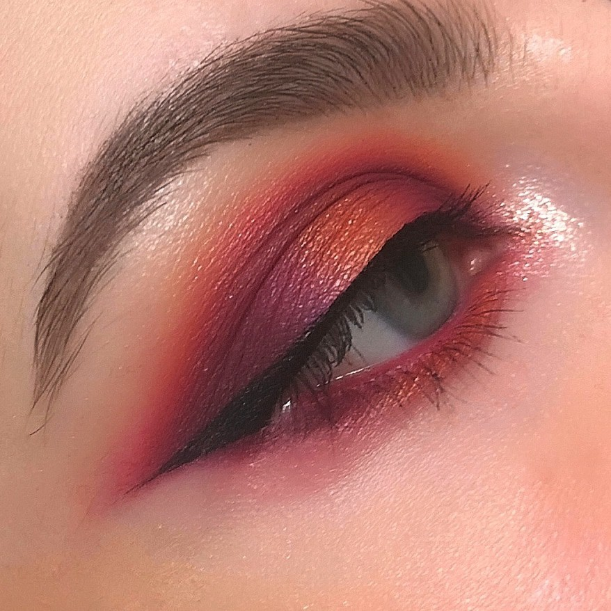 Maquillaje realizado por Lara Martinez, una idea para tu San Valentín
