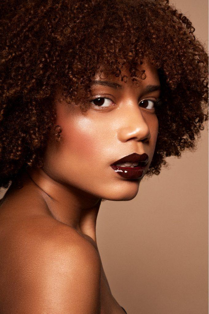Trabajo de piel jugosa por la makeup artist Yolanda de Miguel