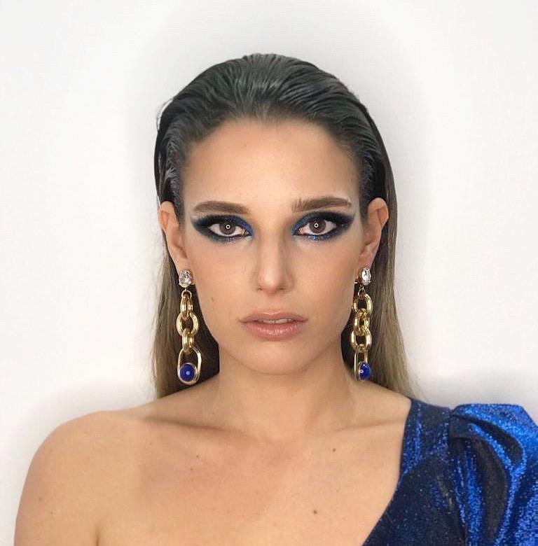 Maquillaje Social centrado en la mirada con un ahumado