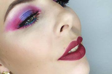 Maquillaje de colores por Ines Nacarino