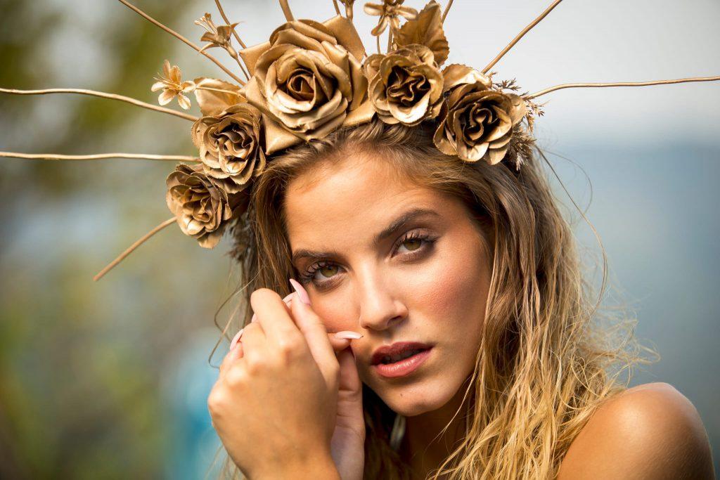 Maquillaje para fotografía de Oriol Moreno