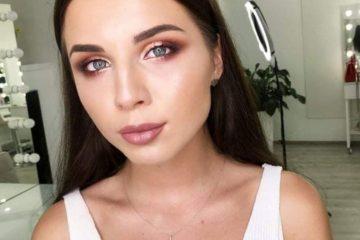 Cómo maquillas los ojos en tonos café