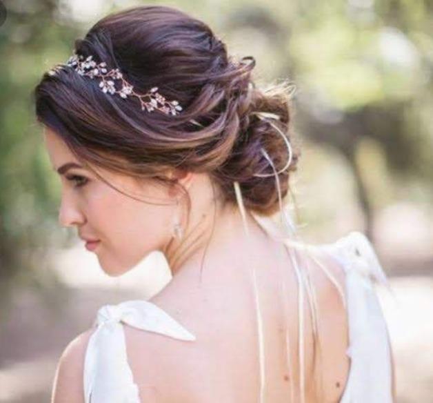 Recogidos para bodas con diadema