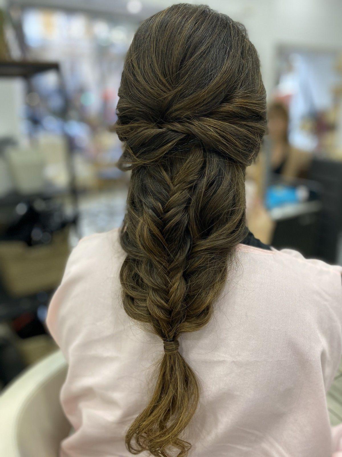 Mery Vercher, una de las peluqueras a domicilio en Valencia